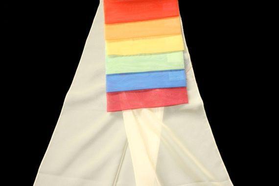 Záclona Lin 5331 300 cm 60 světle růžová
