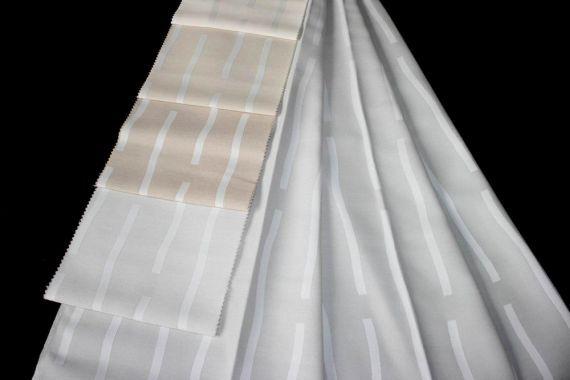 Závěs Lausanne Šíře: 140 cm 50 bílo smetanová