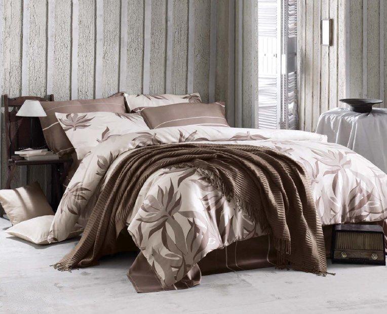 Luxusní saténové povlečení Issimo Home BREEZY 4x50x70/1x200x220cm + prostěradlo 240x260cm