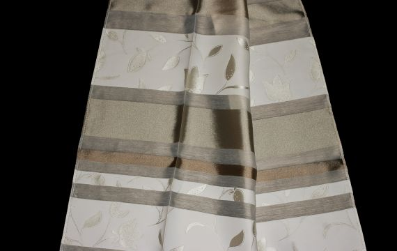 Záclona 50646 Šíře: 140 cm 50 béžovobílá
