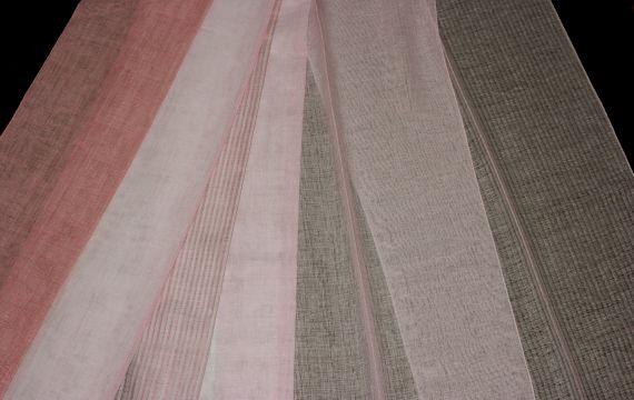 Záclona F-0701 Tessera 315 cm 4451655-01 růžová