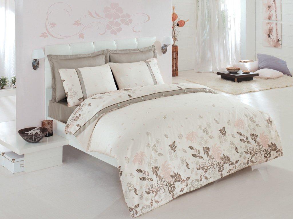Luxusní povlečení Issimo Home SEDEF 4x50x70/1x200x220cm + prostěradlo 240x260cm