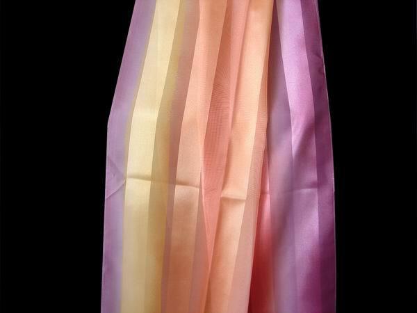 Záclona 5786 Šíře: 150 cm 50 smetanovofialová