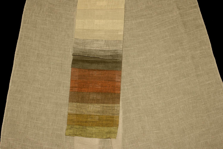 Záclona Antelope 310 cm s olůvkem 218400 černá