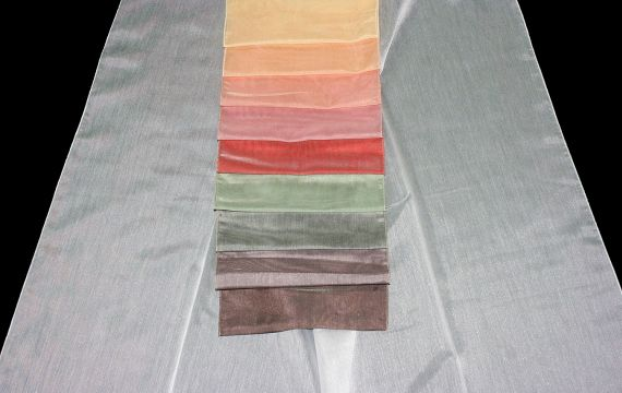 Záclona Valletta Šíře: 310 cm 50 šedohnědá