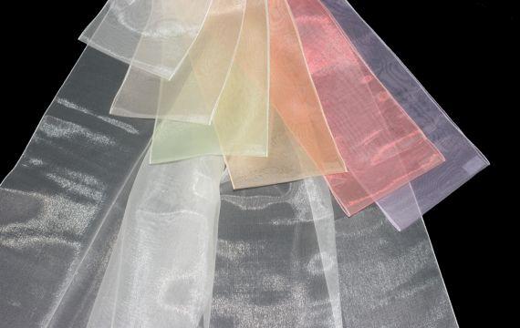 Záclona Inter - VYŘAZENO 290 cm 07 světle růžová
