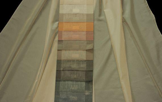 Záclona Offa FR Šíře: 316 cm 2234-50 šedohnědá