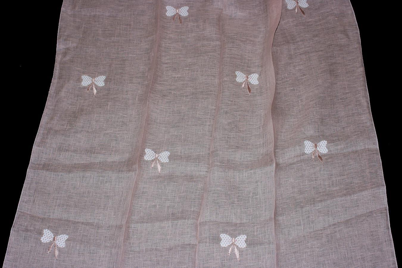 Záclona Bindu /110 140 cm 110 růžová