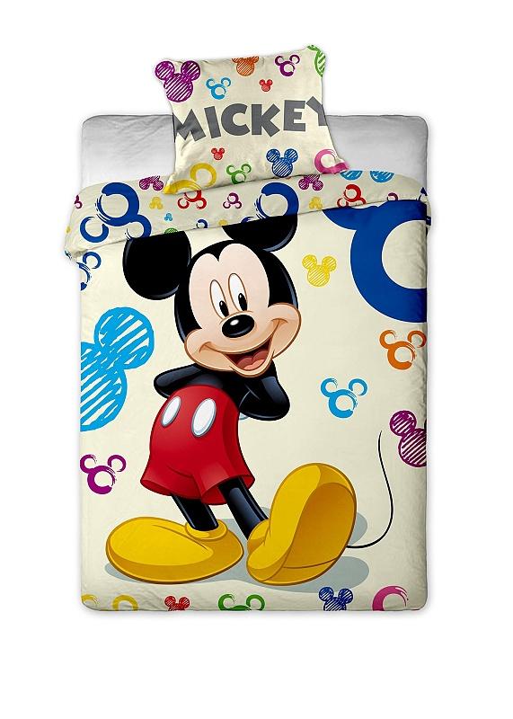 Povlečení Mickey Colours 140x200 70x90 Colours 140x200 70x90