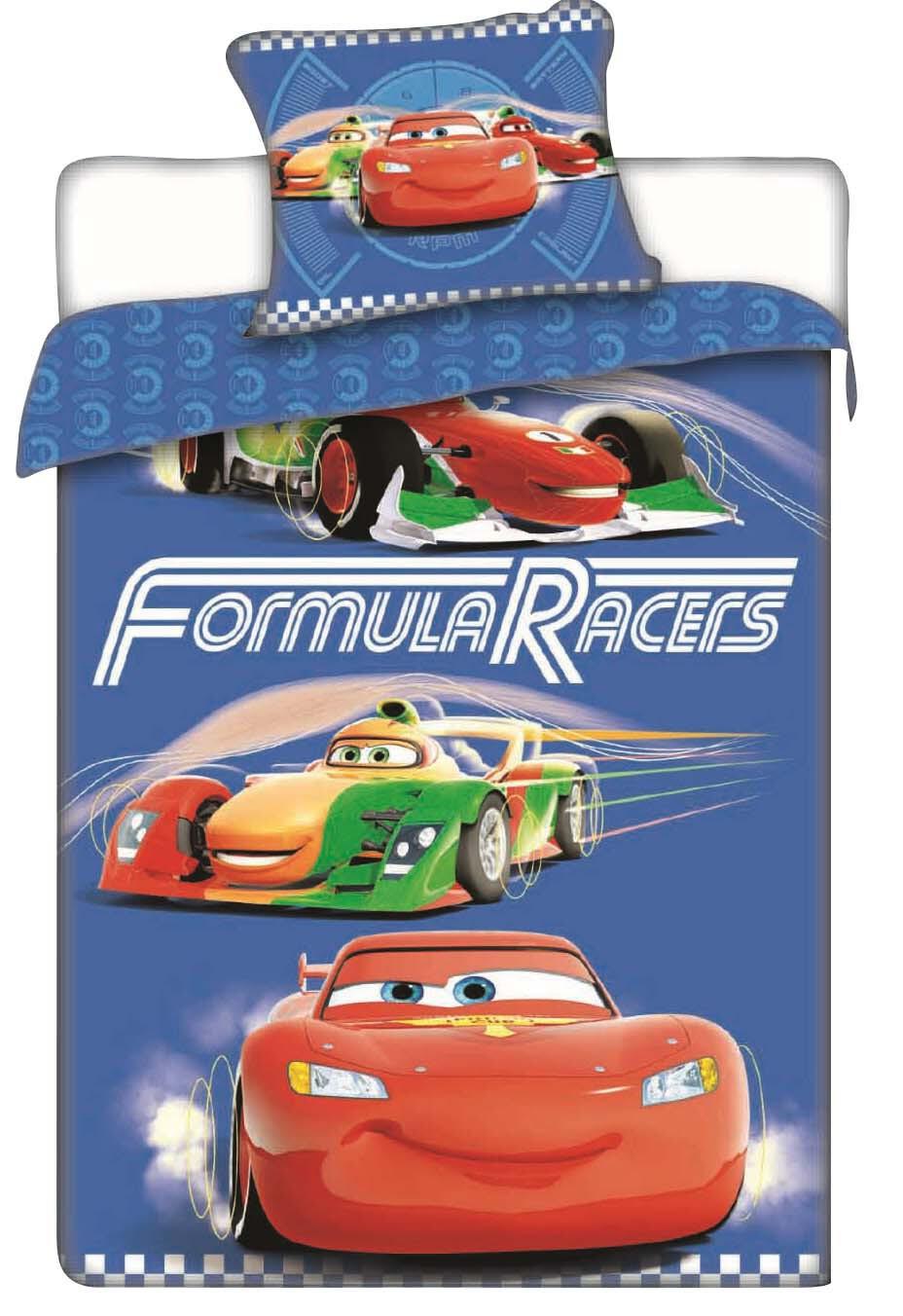 Povlečení Disney Cars racers 140x200 70x90 140x200 70x90