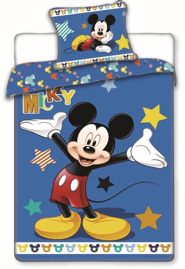 Povlečení Mickey star 140x200 70x90 140x200 70x90