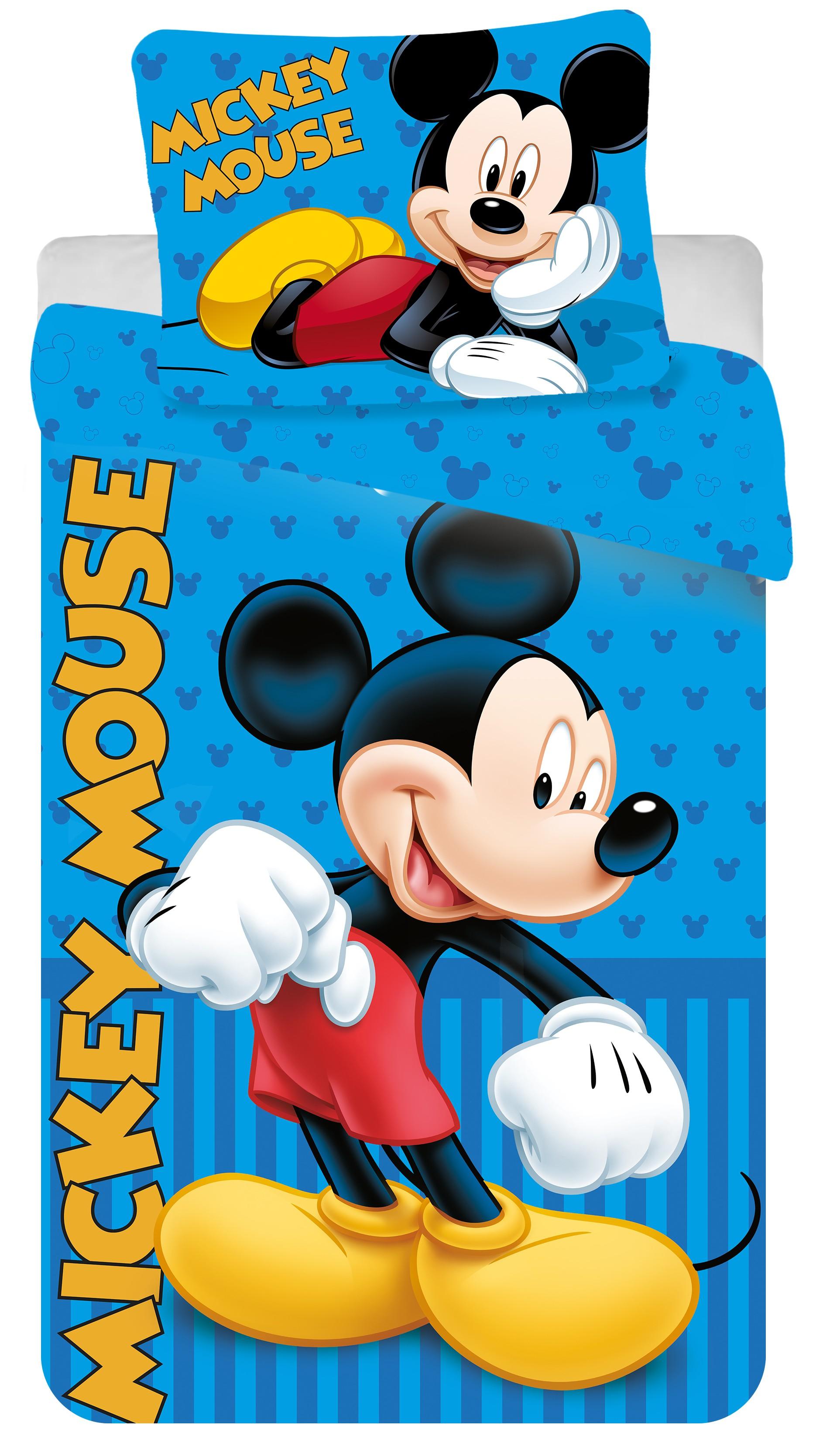 Povlečení Mickey blue 2016 140x200 70x90 140x200 70x90
