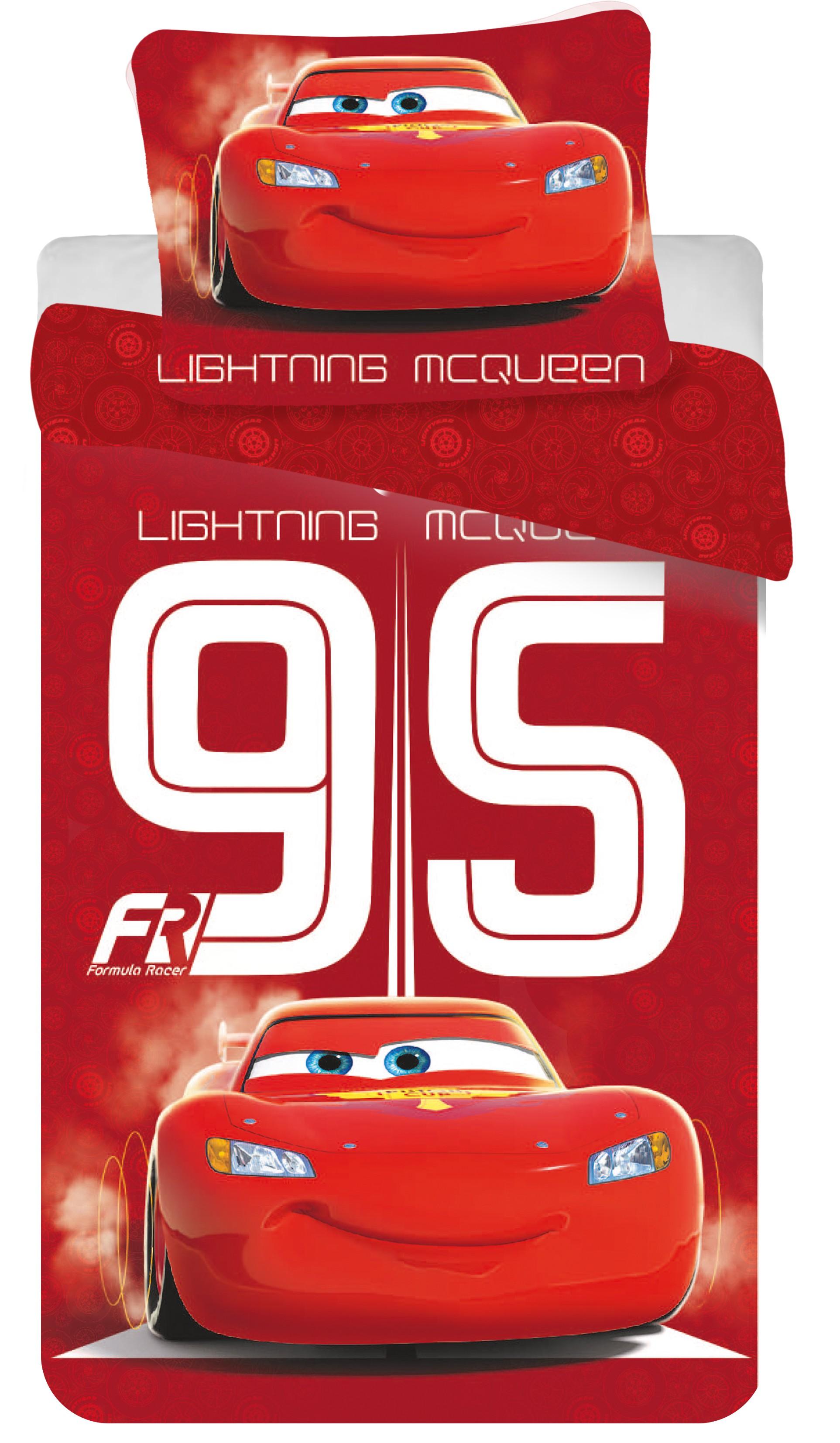 Povlečení Disney Cars 95 red 140x200 70x90 140x200 70x90