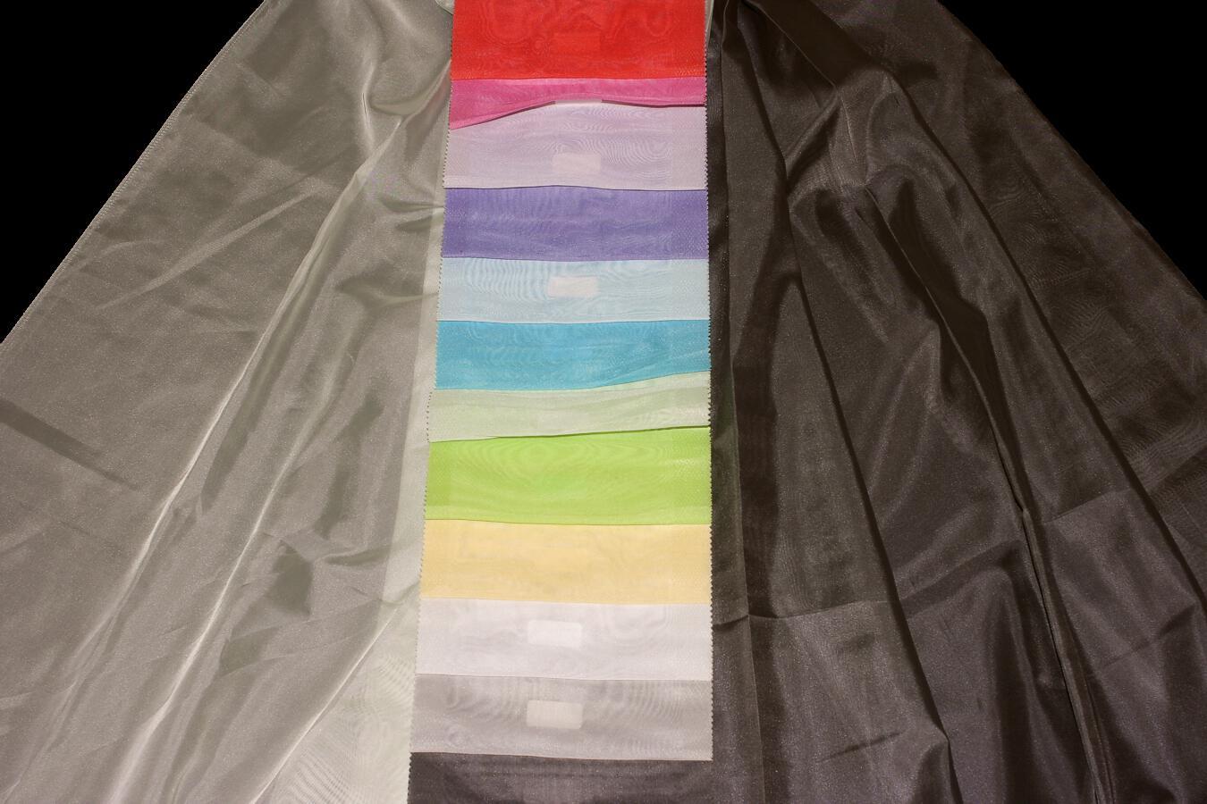 Záclona Renium 87 - NOVÁ BAREVNICE Výška: 320 cm 85 tmavě růžová