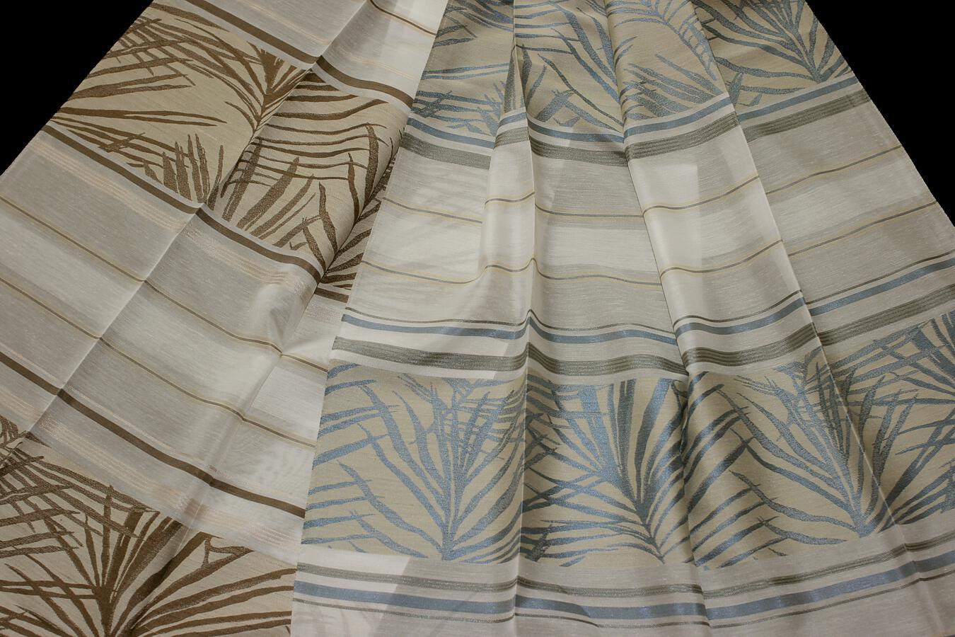 Záclona Bonie Šíře: 145 cm 50 hnědá