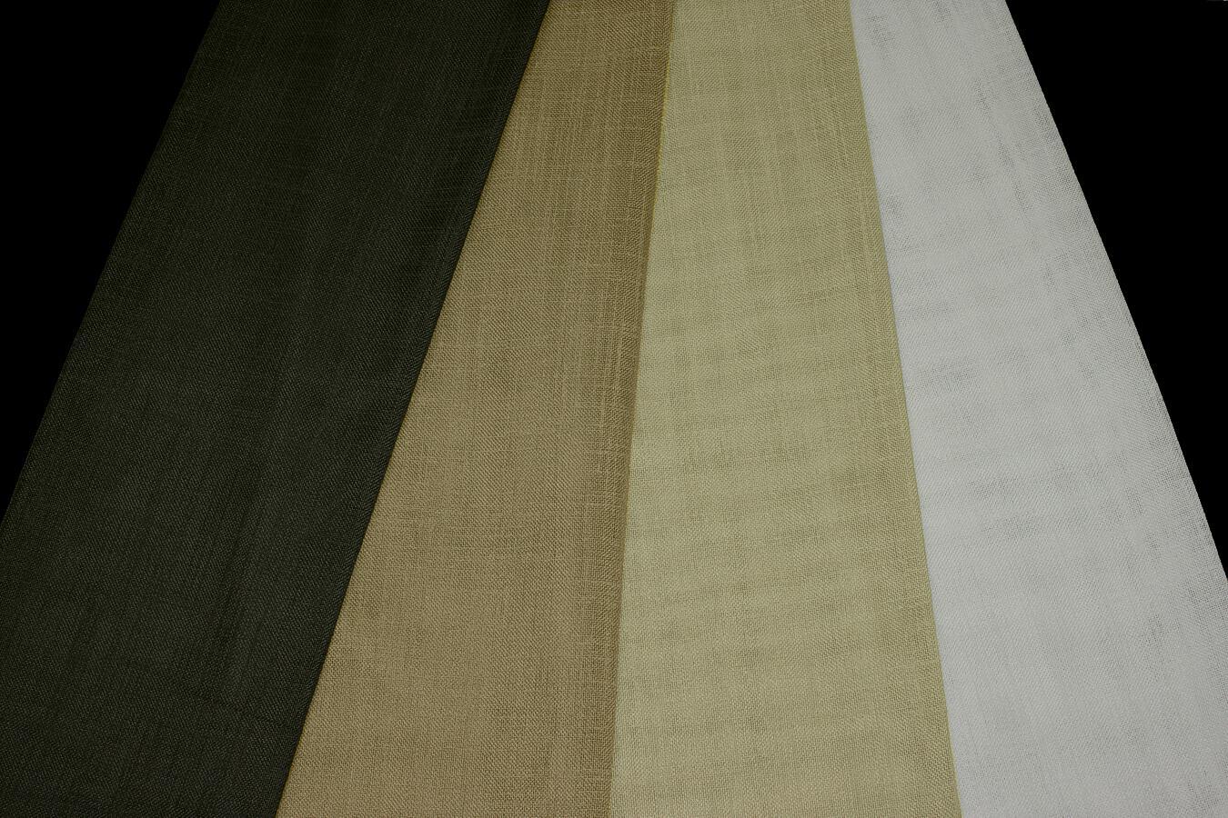 Záclona Hemp Recycle 193 295 cm 5 černá