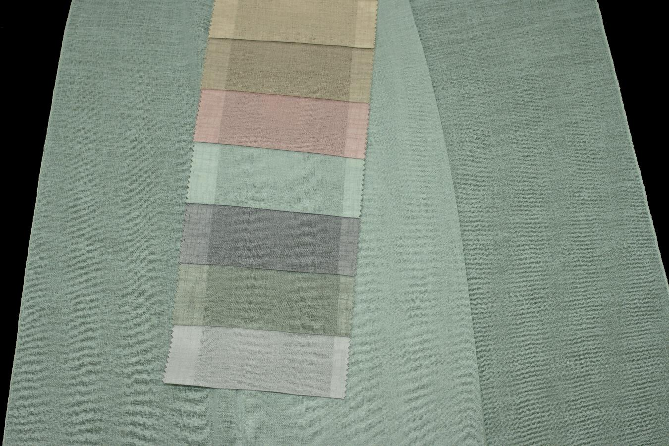 Záclona 31347 Turchese 320 cm s olůvkem 77 růžová