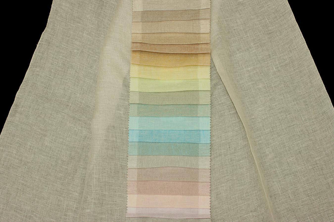 Záclona 31337 Fenice 320 cm 73 tmavě růžová