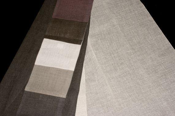 Záclona Flax 198 Výška: 295 cm 4 černá