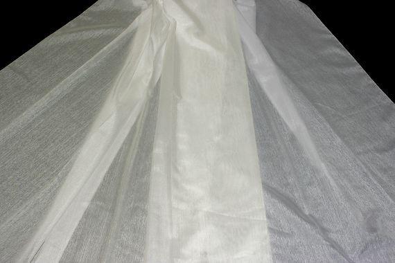 Záclona Linea 122 Výška: 210 cm smetanová
