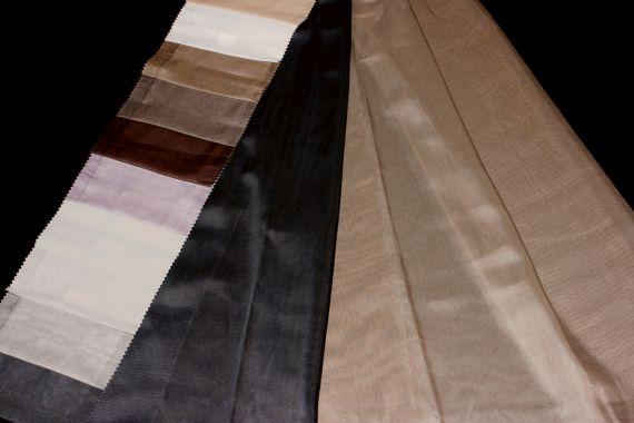 Záclona Kanton 111 Výška: 300 cm 10 černá