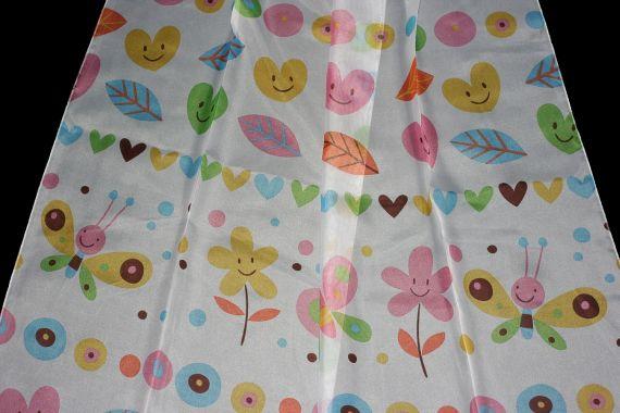 Dětská záclona Debora 300 cm 101 vícebarevná