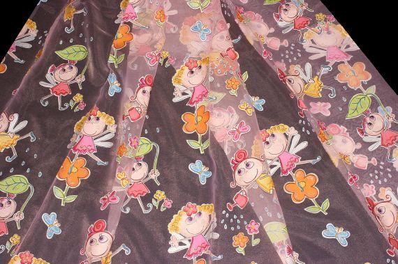 Dětská záclona Pippibo 150 cm 33 růžová