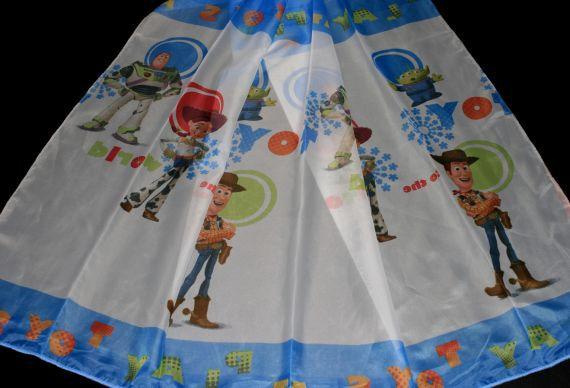 Dětská záclona Play Toys 6148 180 cm modrá