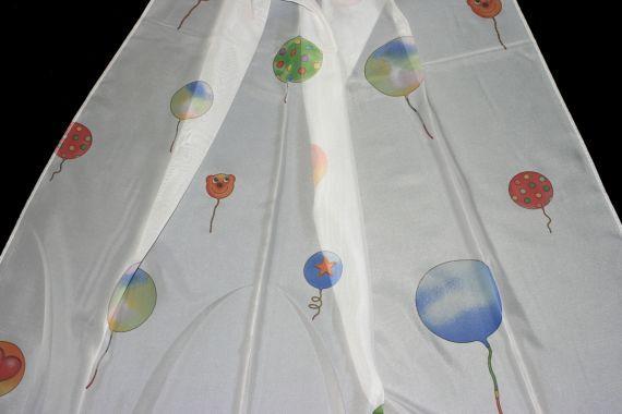 Dětská záclona 865249 Herzballon 300 cm smetanová